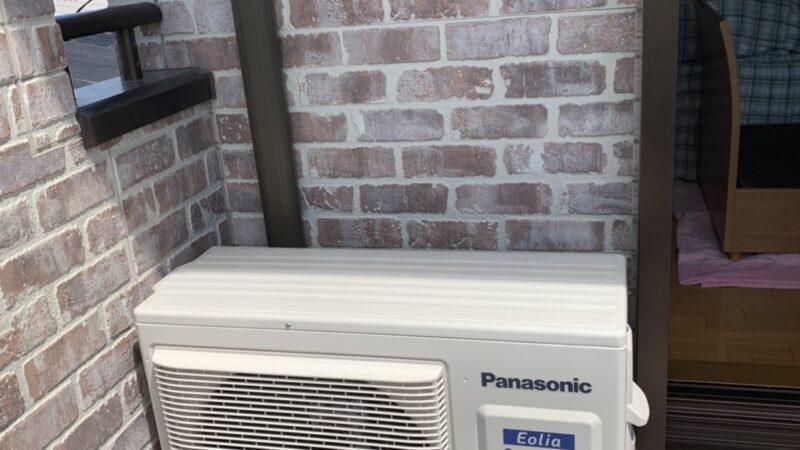 パナショップ弥富によるエアコン取り付け工事
