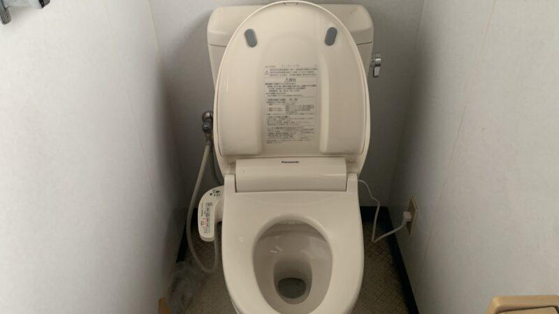 トイレの便座を取り替えてみました‼️